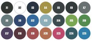 kleurenstalen Gymtex